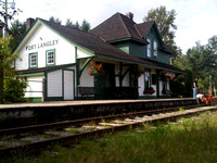 Fort Langley CN Railway Station